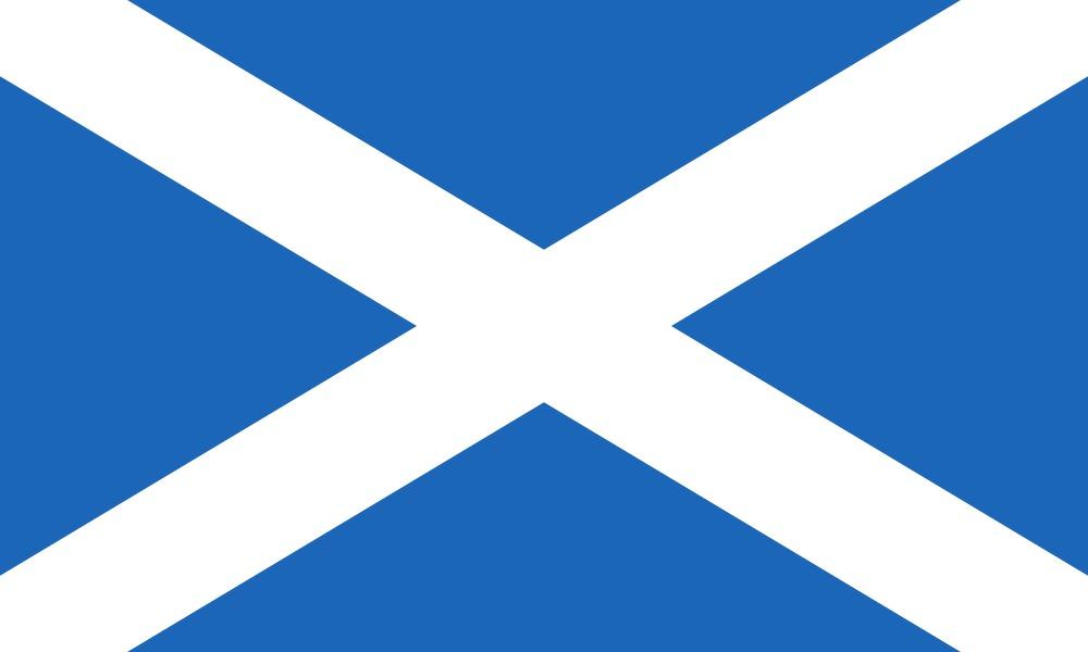 Scotland flag - Bovine TB
