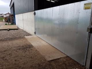 Steel gate - Bovine TB